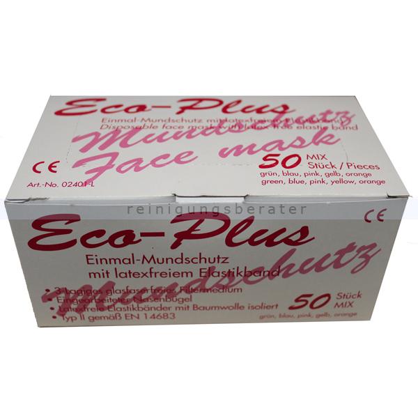 Ampri Mundschutz Eco Plus 3-lagig mixfarben