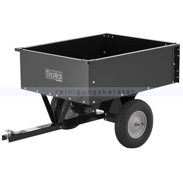 Trolla ATV Rasentraktor Anhänger kippbar 225 kg ATV und Rasentraktoranhänger kippbar 12015
