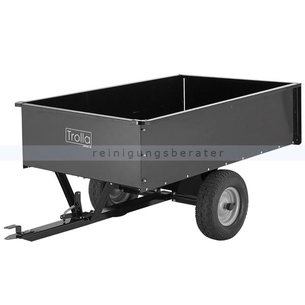 Trolla ATV Anhänger-Kippbar 600 kg ATV und Rasentraktoranhänger kippbar 12005