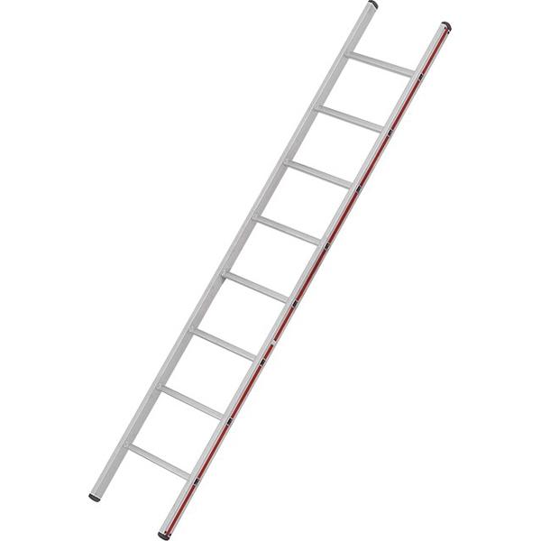 Anlegeleiter Hymer Walzprofil 8 Sprossen mit Holm verpresste Leiterfüße auf beiden Seiten 401108