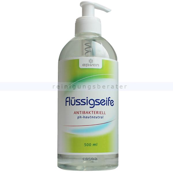 ReinigungsBerater EPISAN Flüssigseife antibakteriell 500 ml Seife Cremeseife mit angenehmer antibakterieller Wirkung 601612/006