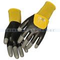 Arbeitshandschuhe Thor Flex Dry Handschuhe schwarz-gelb L