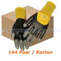 Arbeitshandschuhe Thor Flex Dry scharz-gelb M Karton