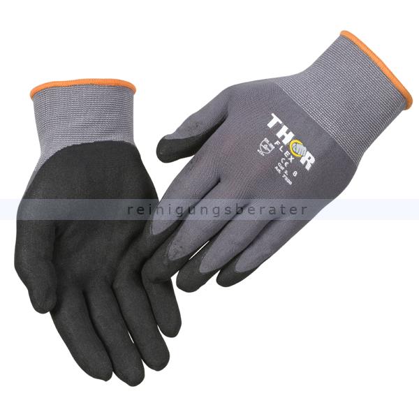 Arbeitshandschuhe Thor Flex silikonfrei Größe 8 (M) Gr. 8, silikonfrei, sehr hoher Tragekomfort 490019