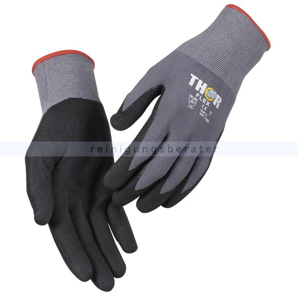 Arbeitshandschuhe Thor Flex silikonfrei Größe 7 (S) Gr. 7, silikonfrei, sehr hoher Tragekomfort 490018