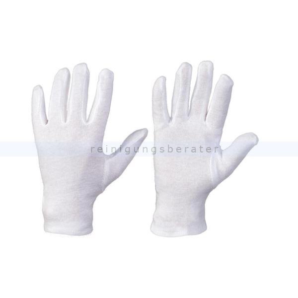 Feldtmann Baumwollhandschuhe Trikot Handschuhe Anshan M Gr. 8, Trikot Arbeitshandschuhe atmungsaktiv 0300-8