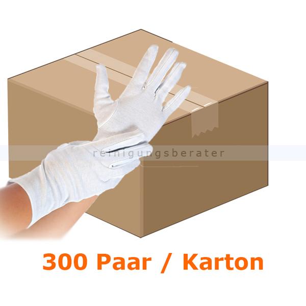 Baumwollhandschuhe Trikot Handschuhe HygoStar Blanc Gr. M 25x12 Paar/Karton, CAT 1, CE PSA VO (EU) 2016-425 27151