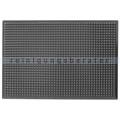 Arbeitsplatzmatte Ergomat Infinity Bubble schwarz 60x90 cm