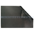Arbeitsplatzmatte Ergomat Nitril schwarz 60x90 cm