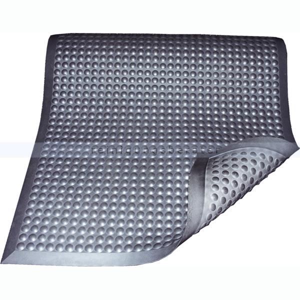 Arbeitsplatzmatte Miltex Yoga Ergonomie B1 grau 95 x 125 cm schwer entflammbar Arbeitsplatzmatte n. DIN 4102 17053