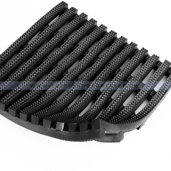 Arbeitsplatzmatte Miltex Yoga Roll® schwarz 0,91 x max. 10 m Arbeitsplatzmatte mit rollbaren Bodenrost 15122