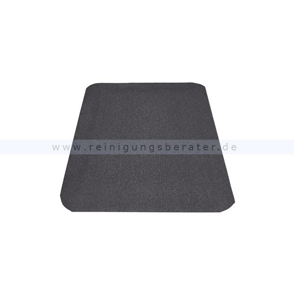 Arbeitsplatzmatte Miltex Yoga Spark schwarz 90 x 150 cm Arbeitsplatzmatte für Schweißarbeitsplätze 16520