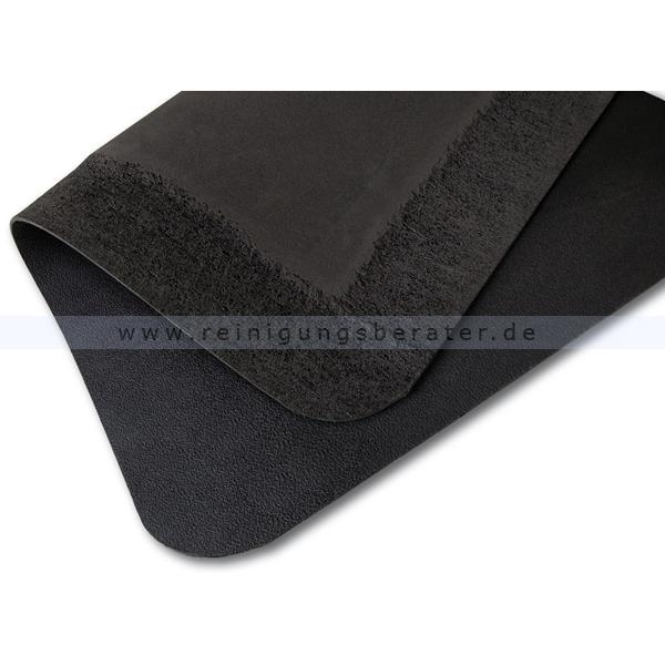 arbeitsplatzmatte miltex yoga spark schwarz 90 x 360 cm. Black Bedroom Furniture Sets. Home Design Ideas