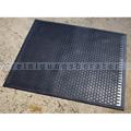 Arbeitsplatzmatte Scrapemat Nitrilgummi schwarz 85 x 75 cm