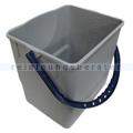 Arcora BORA DELUXE Kunststoffeimer 18 L grau, blauer Griff