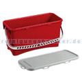 Arcora Kunststoffeimer Moppbox 20 L rot mit Deckel
