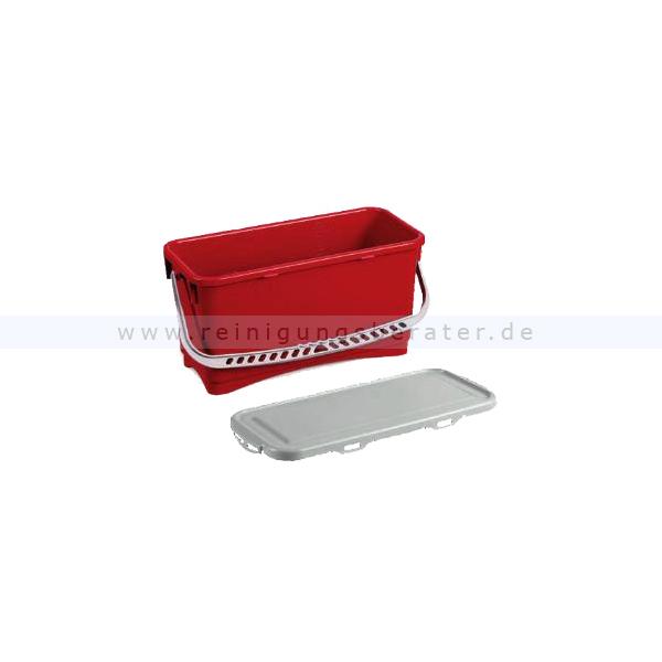 arcora kunststoffeimer moppbox 20 l rot mit deckel. Black Bedroom Furniture Sets. Home Design Ideas