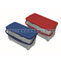 Arcora Kunststoffeimer Moppbox 22 L blau mit Deckel