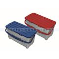 Arcora Kunststoffeimer Moppbox 22 L rot mit Deckel