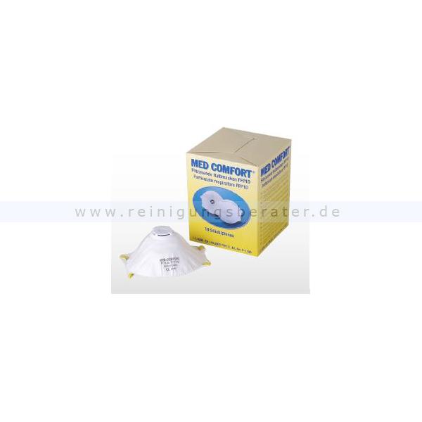Atemschutzmakse Ampri Med Comfort filtrierende Halbmaske FFP1D