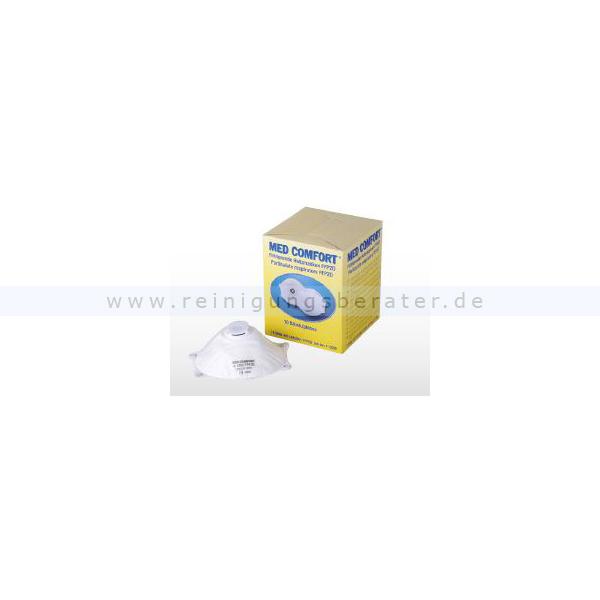 Atemschutzmakse Ampri Med Comfort filtrierende Halbmaske FFP2D