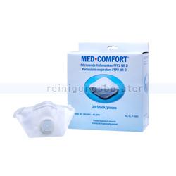 Atemschutzmaske Ampri FFP2D mit Ventil Box mit 20 Stück