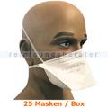 Atemschutzmaske Ampri FFP2NR Filtrierende Halbmaske 25 Stück