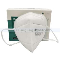 Atemschutzmaske FFP2 NR Schutzmaske ohne Ventil 20 Stück