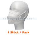 Atemschutzmaske FFP2 NR Schutzmaske ohne Ventil weiß 1 Stück