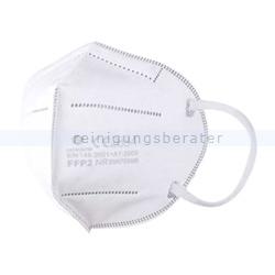 Atemschutzmaske FFP2 weiß ohne Ventil 2 Stück