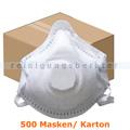 Atemschutzmaske FFP3 NR Schutzmaske mit Ventil weiß Karton