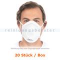 Atemschutzmaske Hygostar FFP2NR Dolomit mit Ventil 20 Stück