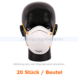 Atemschutzmaske Hygostar FFP2NR weiß ohne Ventil 20 Stück
