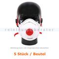 Atemschutzmaske Hygostar FFP3NR weiß mit Ventil 5 Stück