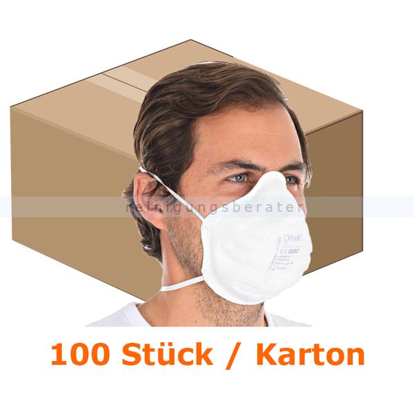 Atemschutzmaske Hygostar FFP3NR weiß ohne Ventil 100 Stück