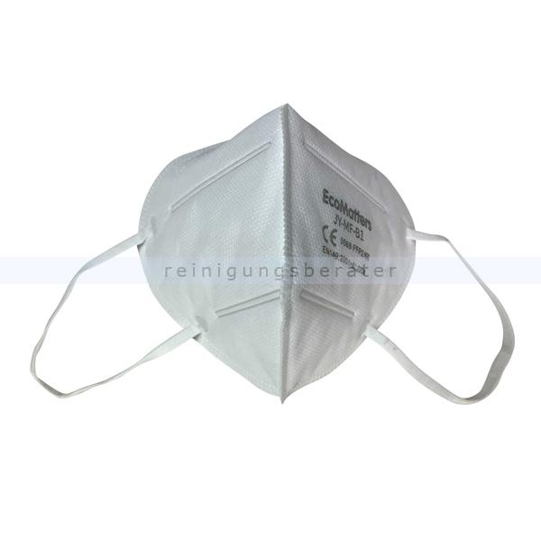 Atemschutzmaske Nölle FFP2 weiß ohne Ventil 20 Stück