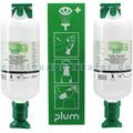Augenspülstation Plum Maxi mit 2 x 1000 ml Flaschen