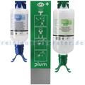 Augenspülstation Plum Notfallstation DUO mit 2 Flaschen