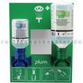 Augenspülstation Plum Notfallstation mit 2 Flaschen Augenspüllösung