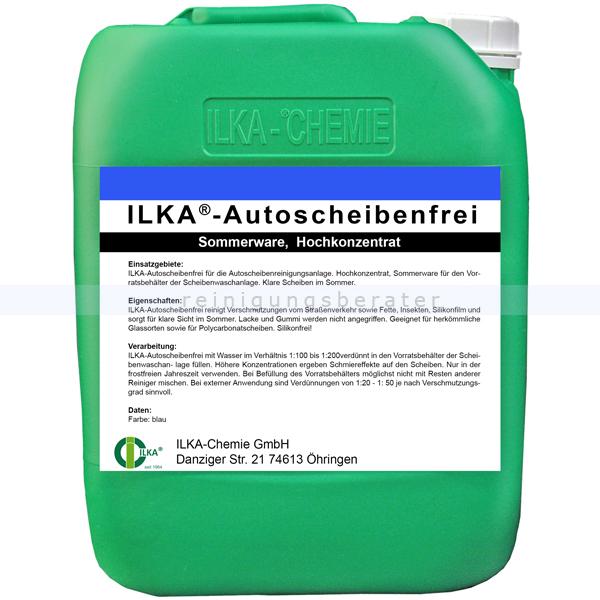 ILKA Chemie ILKA Autoscheibenreiniger Sommer, 10 Liter Kanister für die Autoscheibenreinigungsanlage 0831010
