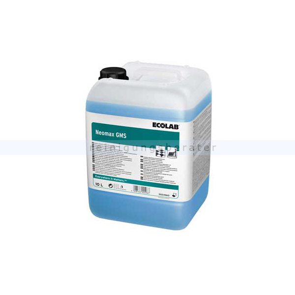 Ecolab Neomax GMS 10 L Automatenreiniger Hochalkalischer Automatenreiniger 3024960