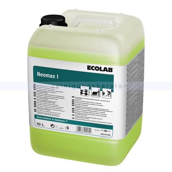 Ecolab Neomax I 10 L Automatenreiniger NEI10 Automatenreiniger für den Industrie- und Küchenbereich 3014790