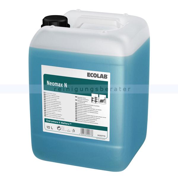 Ecolab Neomax N 10 L Automatenreiniger NEN10 neutraler Automatenreiniger für glänzende Böden 3020770