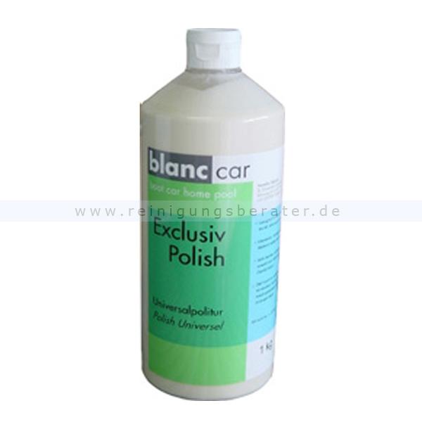 Autopolitur Blanc Car Exclusiv Polish Universalpolitur 1 kg intensiver und homogener Glanz, selbst bei porösen Lacken 156530