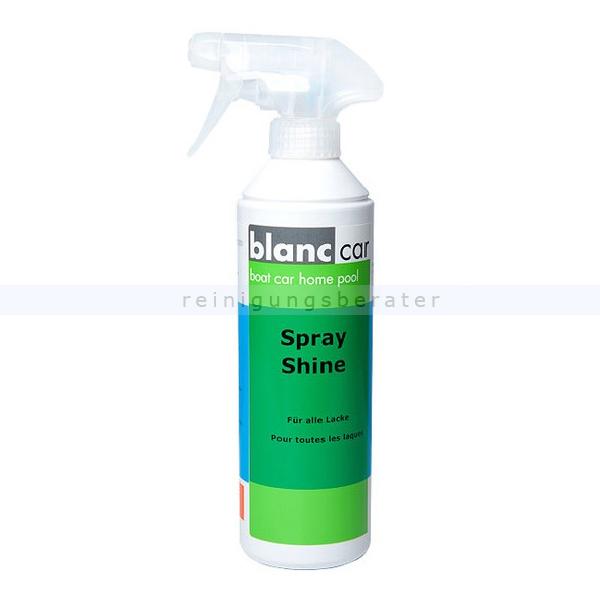 Autopolitur Blanc Car Spray Shine 500 ml Einsprühen - Abwischen - Sauber glänzend 156845