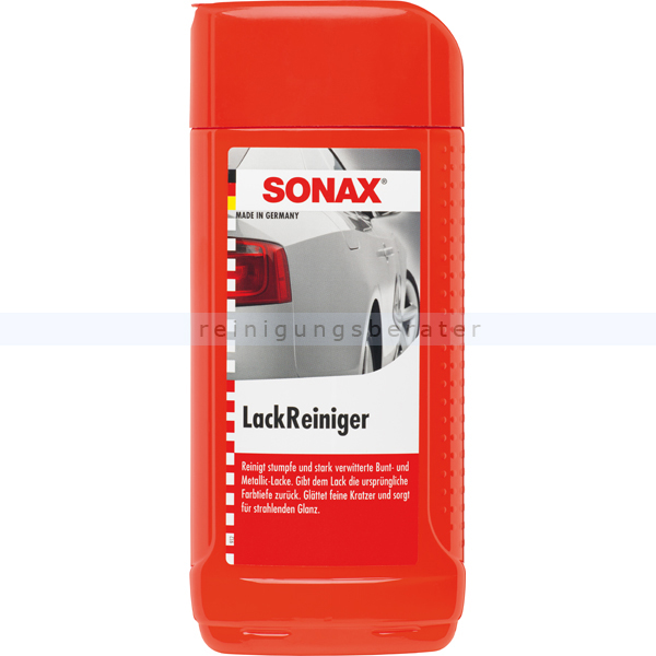 SONAX LackReiniger, 500 ml Für stark verwitterte Bunt- und Metallic-Lacke 03022000