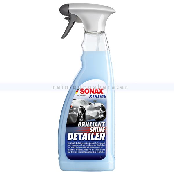 SONAX XTREME BrilliantShine Detailer, 750 ml Lackpflege mit Wasserabperleffekt 02874000