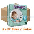 Babywindeln Abena BAMBO Nature Windeln Junior Größe 5 Karton