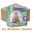Babywindeln Abena BAMBO Nature Windeln Maxi Größe 4 Karton