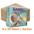Babywindeln Abena BAMBO Nature Windeln Midi Größe 3 Karton